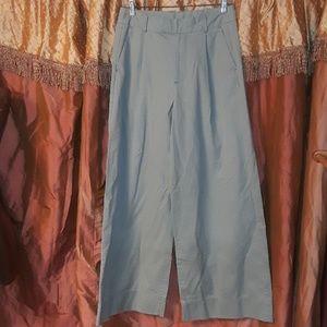 Gap Wide Leg Palazzo Dress Pants in Sage Green